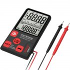 BSIDE ADMS7 Portable Digital Multimeter Large 3 5  LCD 3 Line Display Voltmeter With Voltage NCV Resistance Ohm Hz Tester