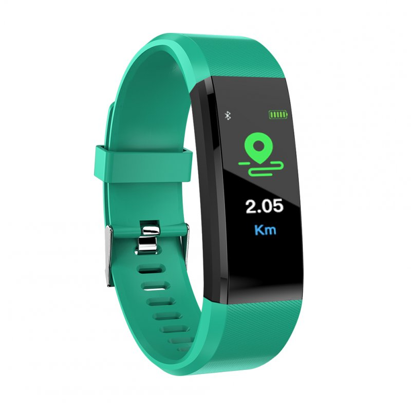 BT Smart Watch Wristband Bracelet Pedometer Sport Fitness Tracker green