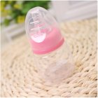 Baby 60ml Standard Caliber Milk Feeder Juice Feeder Mini Bottle Pink