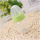 Baby 60ml Standard Caliber Milk Feeder Juice Feeder Mini Bottle green