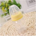 Baby 60ml Standard Caliber Milk Feeder Juice Feeder Mini Bottle yellow