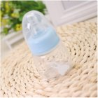 Baby 60ml Standard Caliber Milk Feeder Juice Feeder Mini Bottle blue