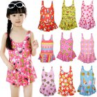 Baby Girl Swimwear Sling Dress Backless Jumpsuit Swimsuit Beach Wear for 1-5Y Random Color Random Color_45 yards