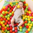 Baby Kid Eco friendly Thicken Ocean Ball Toy for Amusement Park Pit Prop