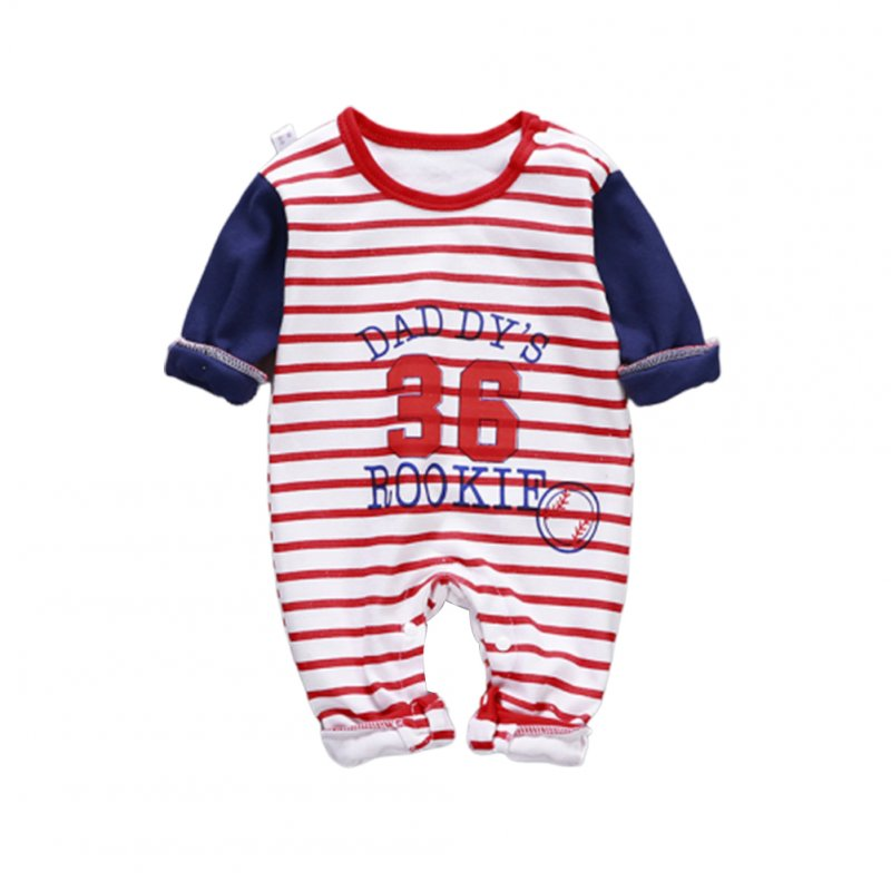 Baby Piece Jumpsuits Cotton Long Sleeve Tops for Daily Out Wearing Number 36baseball uniform _80