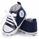 Baby Soft Sports Leisure Shoes Dark Blue 12CM