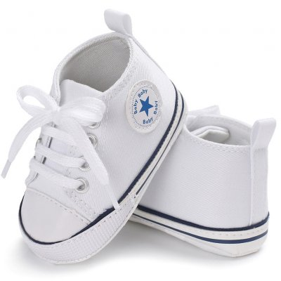 Baby Shoes Soft Leisure Shoes - White 11CM