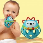 Baby Rubber Teether Ball Educational Toy
