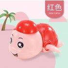 Baby Wind-up Clockwork Playing Toys Cute Cartoon Animal Shape Toy For Kids Turtle red