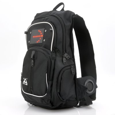 Backpack With Speakers and LEDs