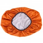 Bag Rain Cover Protable Waterproof Anti tear Dustproof Anti UV Backpack Cover for Camping Hiking Orange 2 35 liters  S