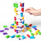Balance Challenge Tower Stacked Intelligence Parent-child Interactive Board Game color