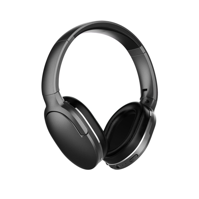 Original BASEUS D02 Bluetooth V5.0 Headphone Black