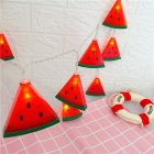 Battery Powered LED String Lights Watermelon String Fairy Light for Party Bedroom Kid Room Home Decoration