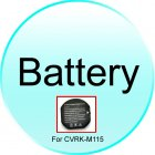 Battery for CVRK M115 Assassin   Quad Band Touchscreen Mobile Phone Watch