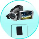 Battery for CVSEJ A4402 1080P HD Video Camera   High Res Video Camcorder