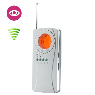 Spy Wi-Fi Signal and Camera Lens
