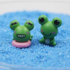 Beach Style Micro Landscape DIY Decor(frogs)