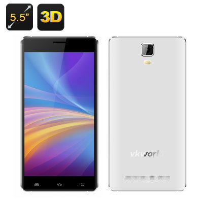 VKWorld Discovery S1 3D Smartphone (White)