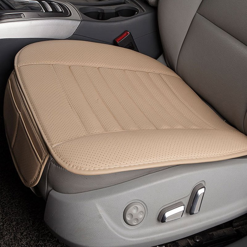 Beige Breathable  Interior Seat  Cushion Pad