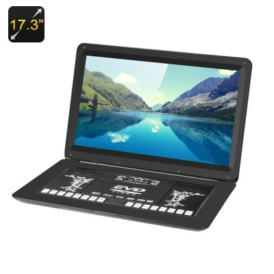 17.3 Inch DVD Player