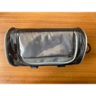 Bicycle Bag Multifunctional Touch Screen Frame Tube Handlebar Bag Riding Storage Bag black_22*12*12