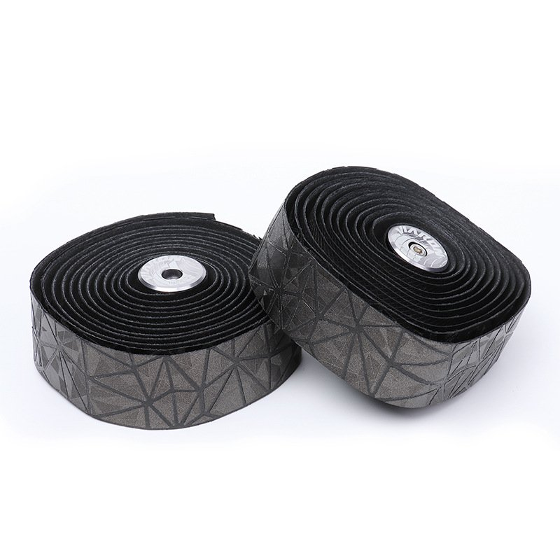 Bicycle Handlebar Tape Race Bike Bar Tape Cycling Road Bike Waterproof Tape Wrap gray