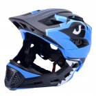 Bicycle Helmet Children Balance Bike Full Helmet Integrally-molded Outdoor Cycling Accessories Bike Helmet blue_Free size