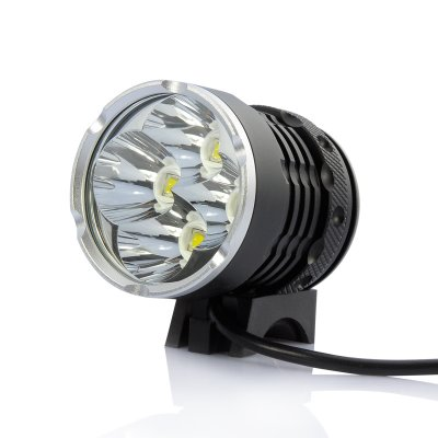4x CREE Bicycle LED Lamp + Headlight