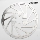 Bicycle Parts Bicycle Disc Brake Rotor 160 180 203mm Presenting with 6pcs T25 Plum Screw 203MM