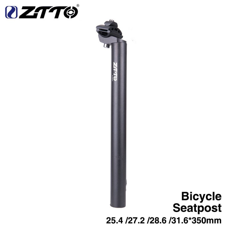 Bicycle Seat Post Tube Bike Superlight Seatpost Road Mountain Bike Mtb Fixed Gear Bicycle Parts 31.6 * 450MM