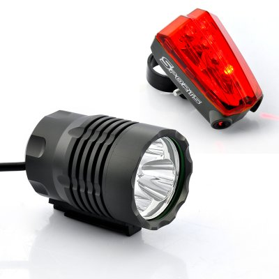 1800 Bike Light and Headlamp