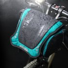 Bike Mountain Bike Waterproof Front Handle Bar DSLR Camera Bag blue_One size