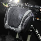 Bike Mountain Bike Waterproof Front Handle Bar DSLR Camera Bag gray One size