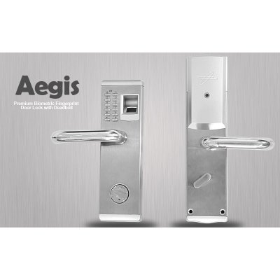 Biometric Door Lock w/ Deadbold - Aegis