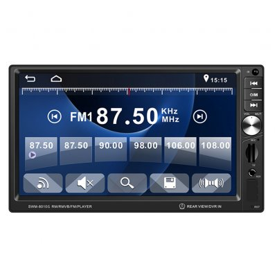 Black 2din Bluetooth Car Radio