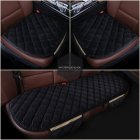 Black 3 Pcs Soft Comfortable Car Cushion