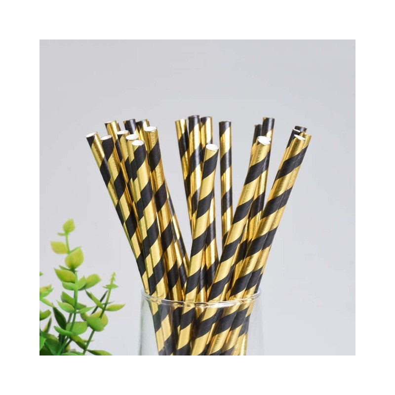 Black Gold Party Favors Cups Towel Western Dinner Plate Banquet Birthday Graduation Party Tableware Food Photography Props