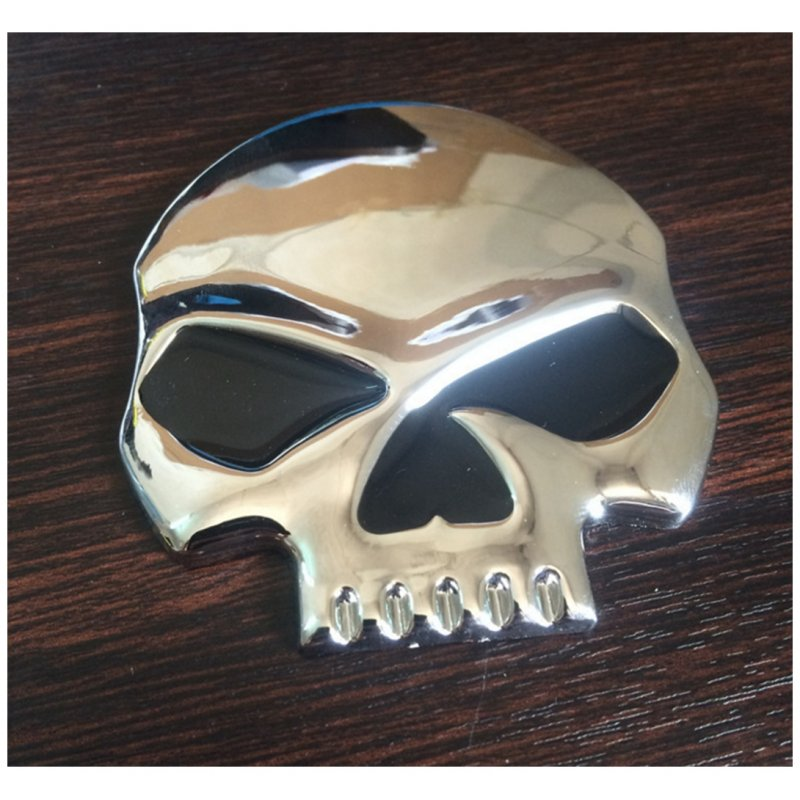 Black Skull Punisher Car Styling Emblem Decal Badge Sticker