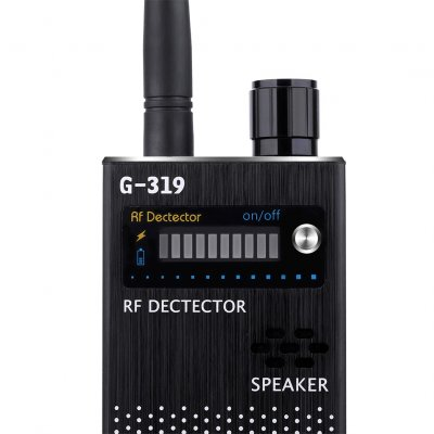 Black US Wireless RF Signal Detector