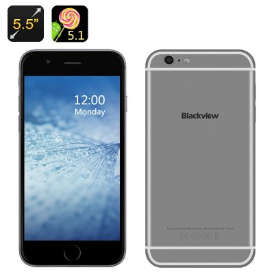 Blackview Android 5.1 Smartphone (Gray)