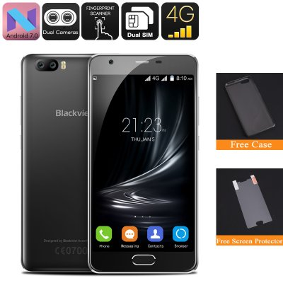 Blackview A9 Pro Android Phone (Black)