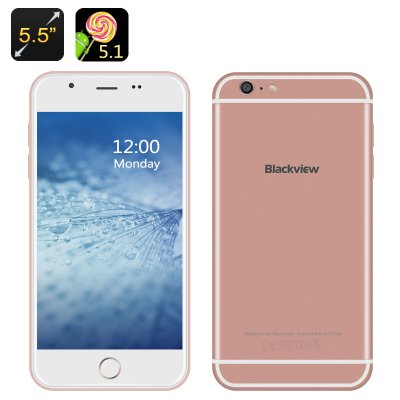 Blackview Android 5.1 Smartphone (RoseGold)
