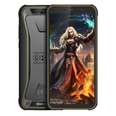 Blackview BV5500 Pro 3+16GB 4G Phone Yellow