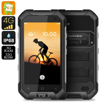 Blackview BV6000 Smartphone (Black)