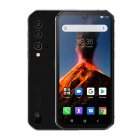 Blackview BV9900 Helio P90 Octa Core 8+256GB IP68 Rugged Mobile Phone Android 9.0 48MP Quad Rear Camera NFC Smartphone Global 4G Silver_Non-European regulations