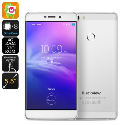 Blackview R7 Smartphone (Silver)