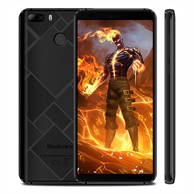 Blackview S6 Smart Phone 2+16GB Black