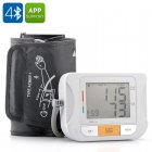 Blood Pressure Monitor with Pulse Measurement uses Bluetooth 4 0 for connectivity with the free App for iOS and Android Devices