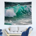 Blue Ocean Series Printing Wall Hanging Tapestry for Bedroom Home Decor 8#_150x130 (215g)